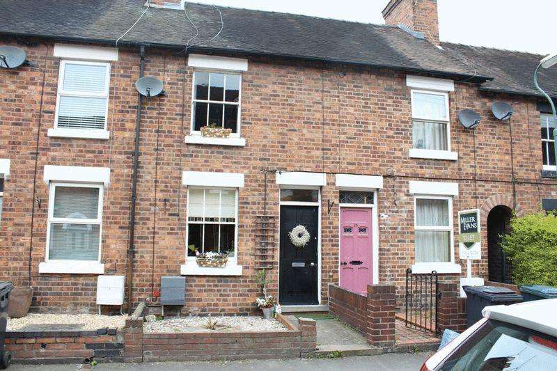 2 Bedrooms Terraced House for sale in Bynner Street, Belle Vue, Shrewsbury, SY3 7NZ