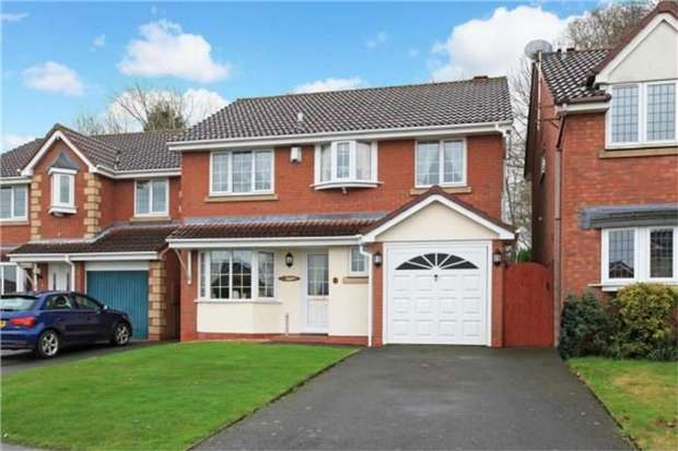 4 Bedrooms Detached House for sale in 19 Reynards Coppice, Great Hay, Telford, Shropshire