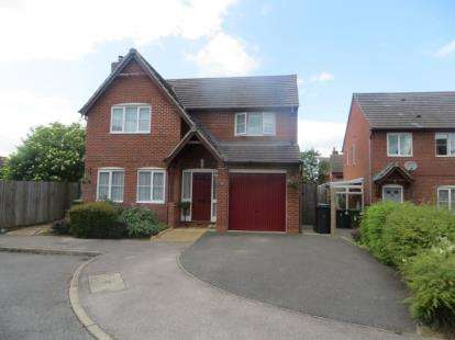 4 Bedrooms Detached House for sale in Hill Crest Farm Close, Warton, Tamworth, Staffordshire