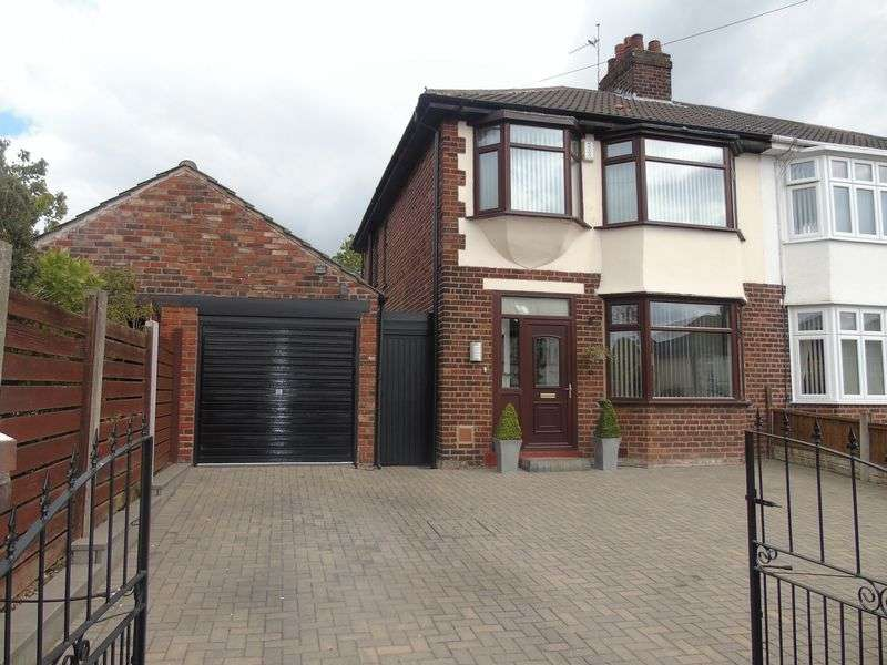 3 Bedrooms Semi Detached House for sale in Wilton Road, Liverpool