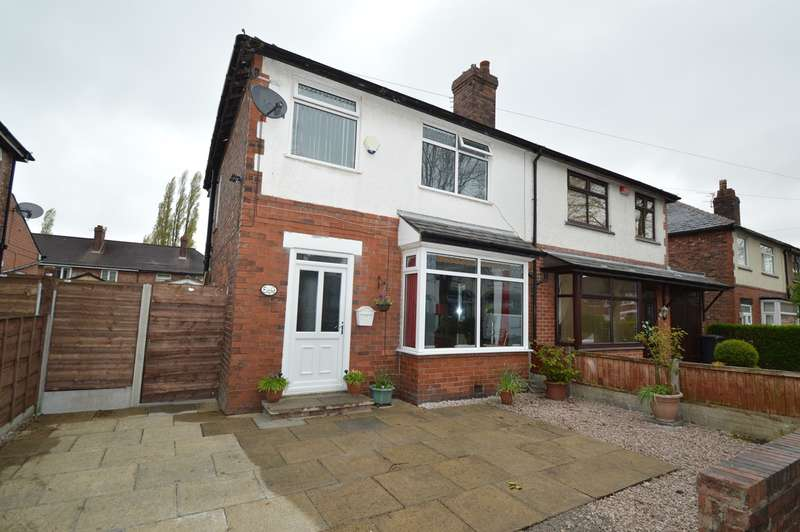 3 Bedrooms Semi Detached House for sale in Spencer Avenue, Whitefield, Manchester, M45