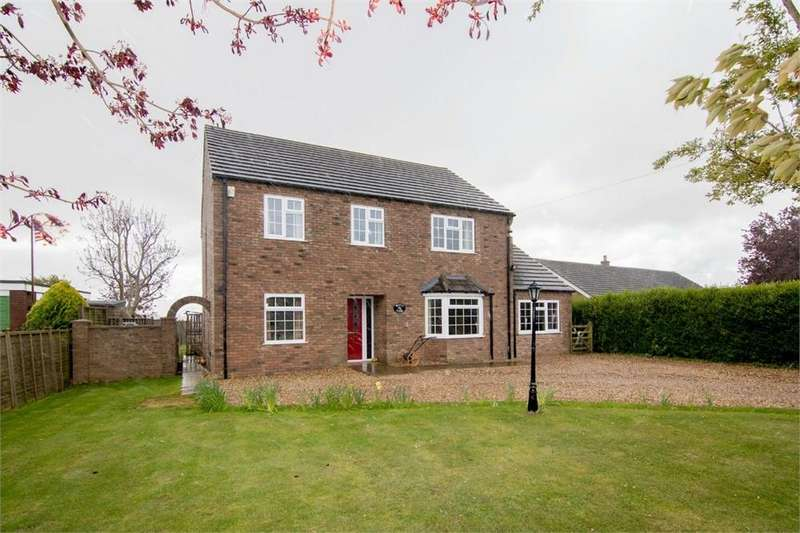 4 Bedrooms Detached House for sale in Armtree Road, Langrick, Boston, Lincolnshire