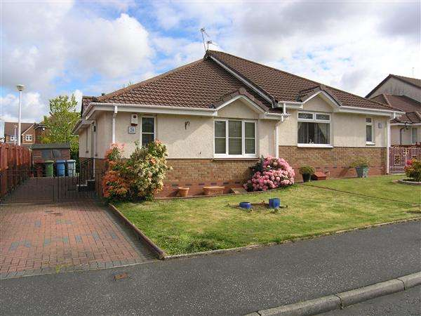 2 Bedrooms Semi Detached Bungalow for sale in Redwood Crescent, Drumsagard, Glasgow