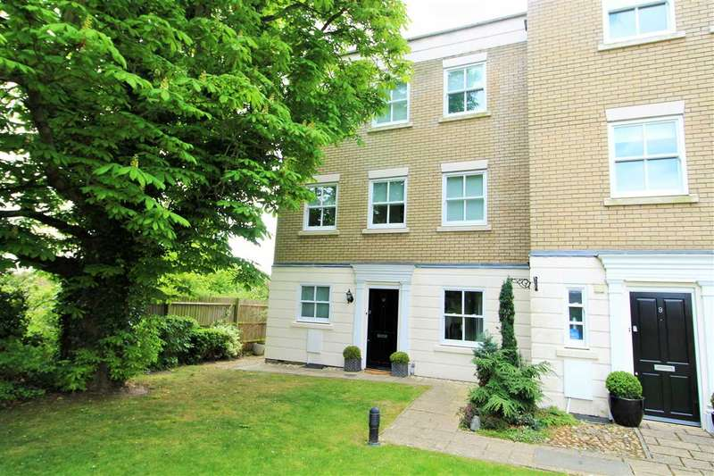 4 Bedrooms Town House for sale in Hillsleigh Mews, East Hill, Colchester