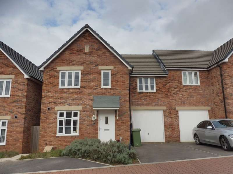 3 Bedrooms Semi Detached House for sale in Lon Yr Helyg, Coity, Bridgend