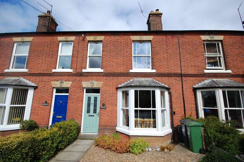 2 Bedrooms Terraced House for sale in Cromer Road, Holt