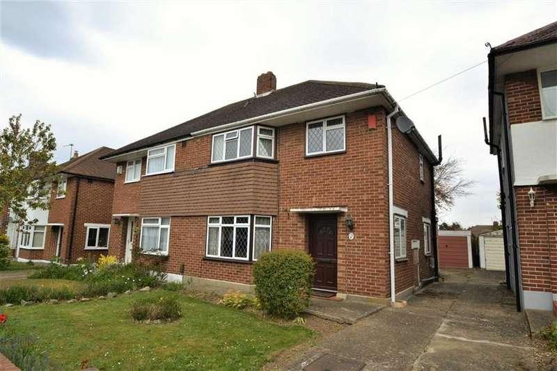 3 Bedrooms Semi Detached House for sale in Broadcroft Road, Petts Wood, Kent