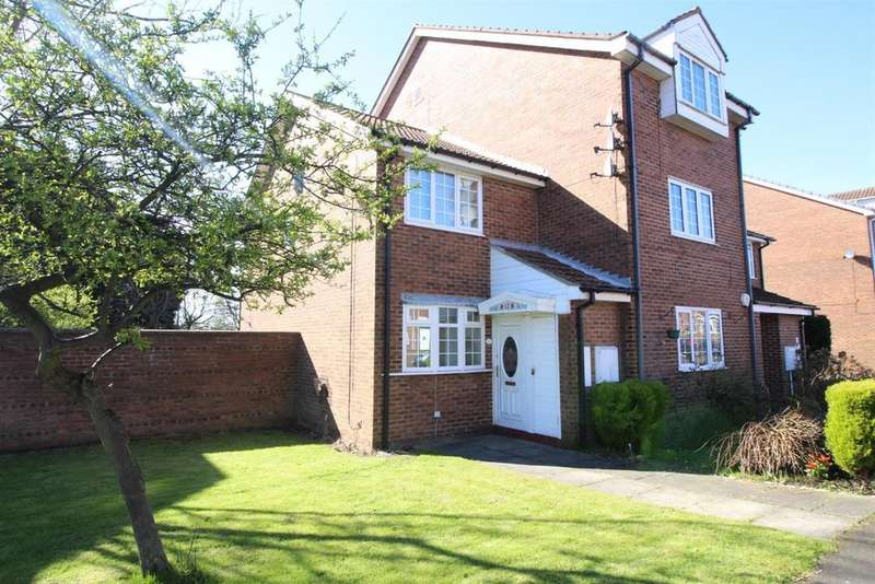 2 Bedrooms Semi Detached House for sale in Regents Court, Westmoor, Newcastle Upon Tyne