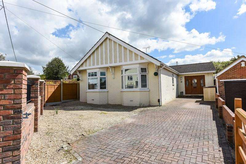 4 Bedrooms Detached Bungalow for sale in Wolversdene Road, Andover