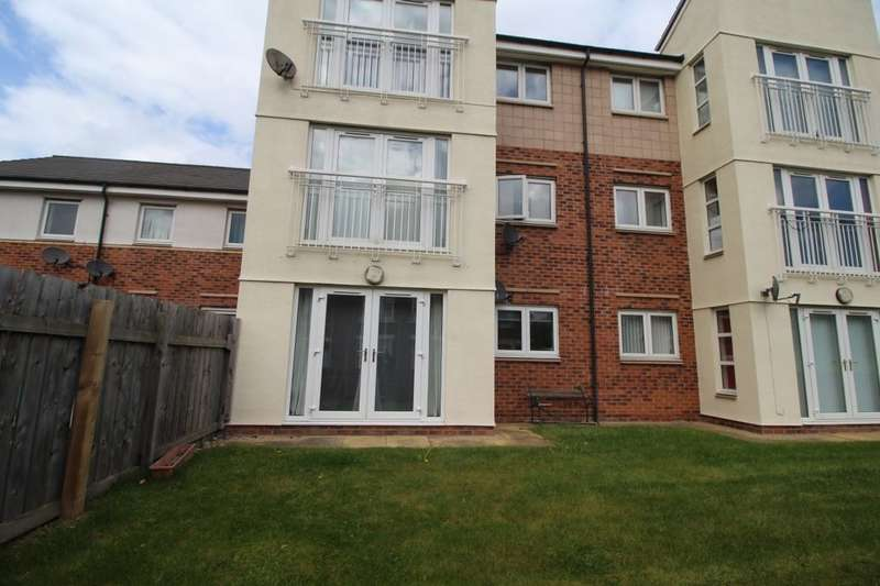 2 Bedrooms Flat for sale in Bittern Close, Dunston, Gateshead, NE11