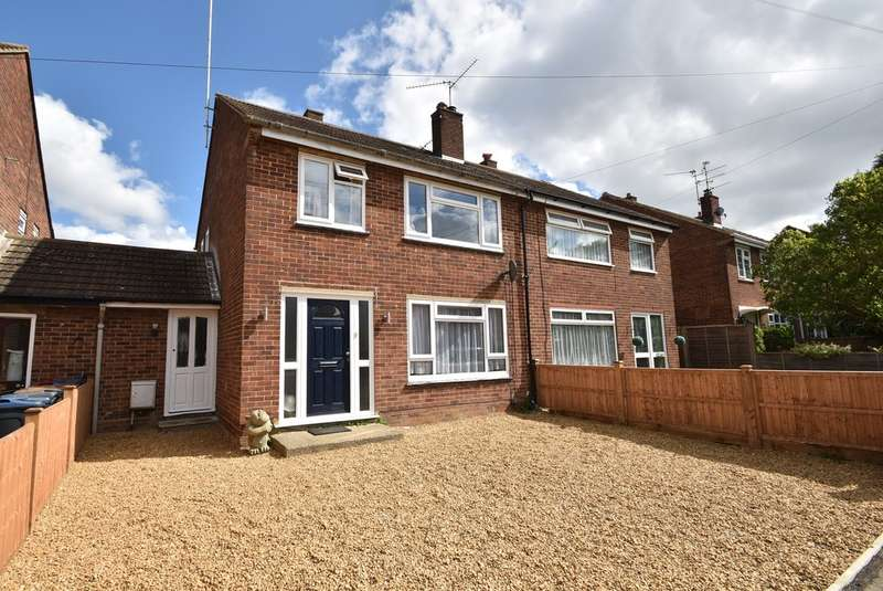 3 Bedrooms Semi Detached House for sale in Plaw Hatch Close, Bishops Stortford