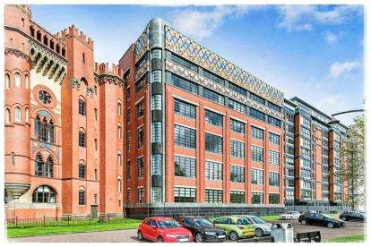 2 Bedrooms Flat for sale in Templeton Court, Glasgow Green, Glasgow