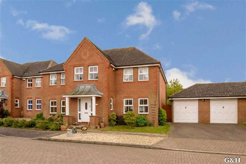 5 Bedrooms Detached House for sale in Thornton Close, Willesborough, Ashford