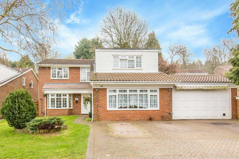 4 Bedrooms Detached House for sale in Suffield Close, Selsdon Ridge, South Croydon, CR2 8SZ