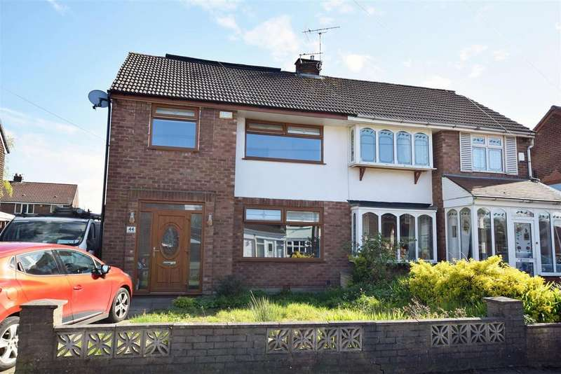 3 Bedrooms Semi Detached House for sale in Banbury Road, Alkrington, Middleton