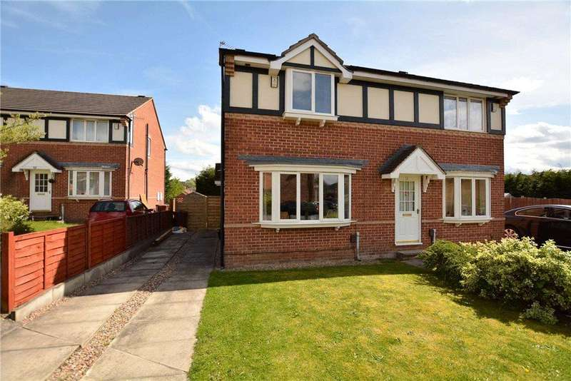3 Bedrooms Semi Detached House for sale in Stonegate Lane, Meanwood, Leeds, West Yorkshire