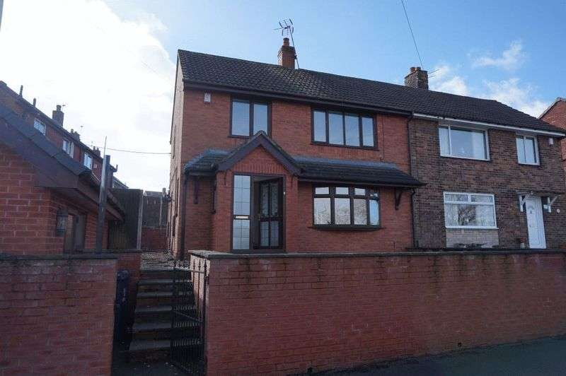 3 Bedrooms Semi Detached House for sale in Well Street, Biddulph, Stoke-On-Trent, ST6 8EZ