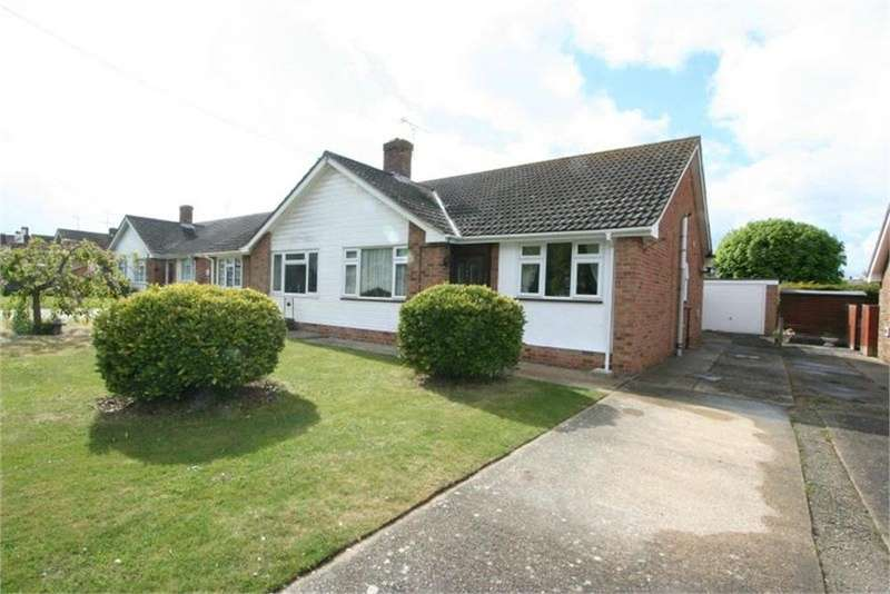 2 Bedrooms Semi Detached Bungalow for sale in Walton Road, FRINTON-ON-SEA, Essex