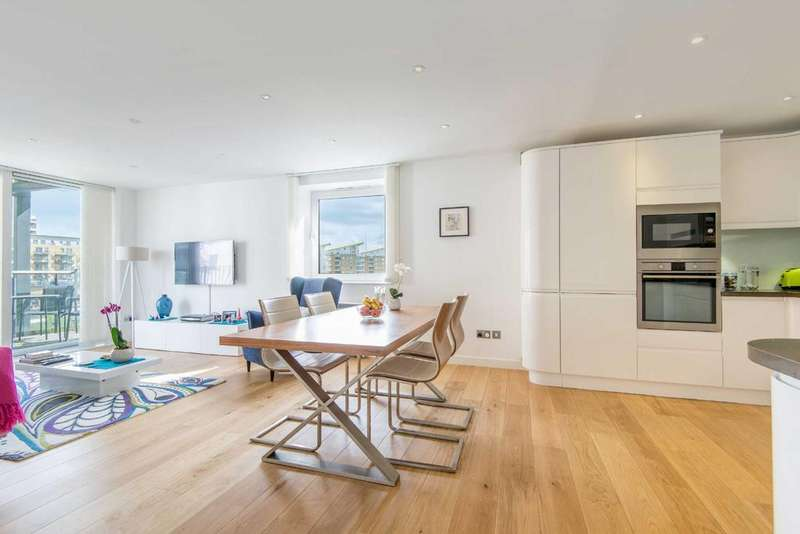 2 Bedrooms Apartment Flat for sale in Medland House, E14