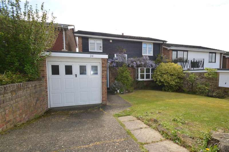 4 Bedrooms Detached House for sale in Cowbeck Close, Gillingham