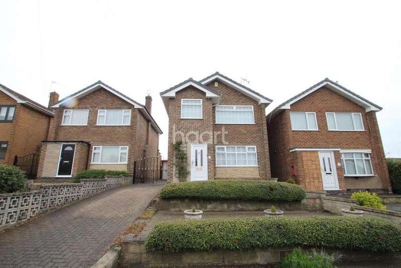 3 Bedrooms Detached House for sale in Grasmere Close, Hucknall