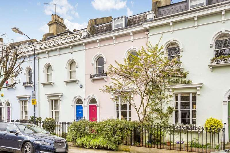 4 Bedrooms Terraced House for sale in Wingate Road, Brackenbury, London, W6