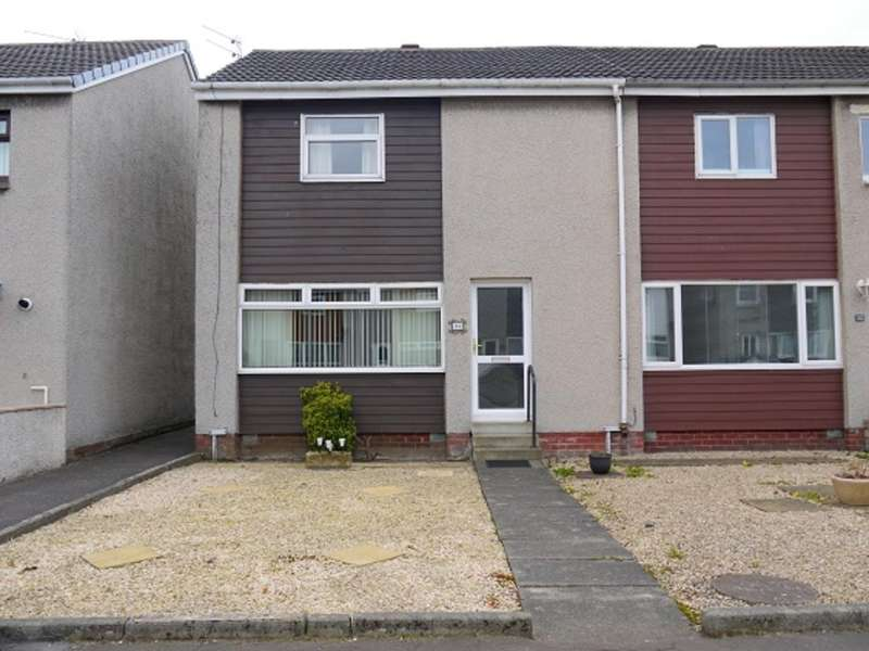 2 Bedrooms End Of Terrace House for sale in Blackford Crescent, Prestwick, KA9