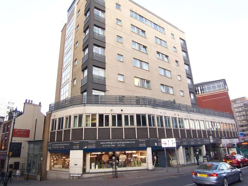 1 Bedroom Apartment Flat for sale in Loxley Court, Maid Marion Way, Nottingham