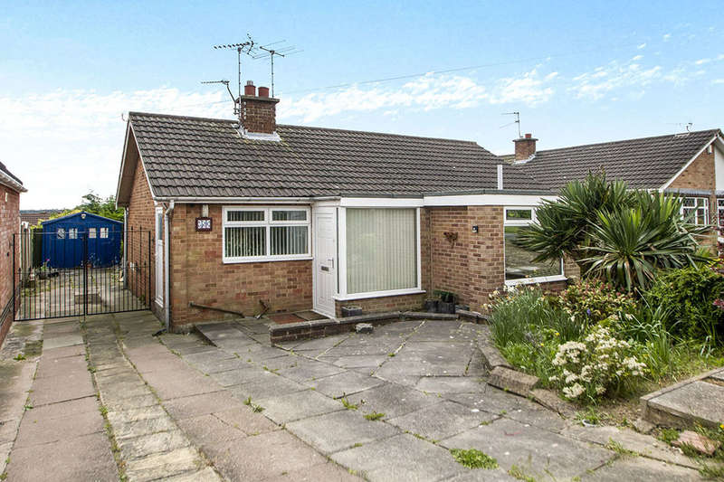 3 Bedrooms Detached Bungalow for sale in Derbyshire Avenue, West Hallam, Ilkeston, DE7