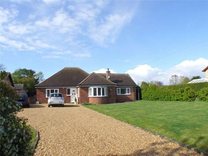 3 Bedrooms Detached Bungalow for sale in Greatford Road, Baston, Peterborough, PE6