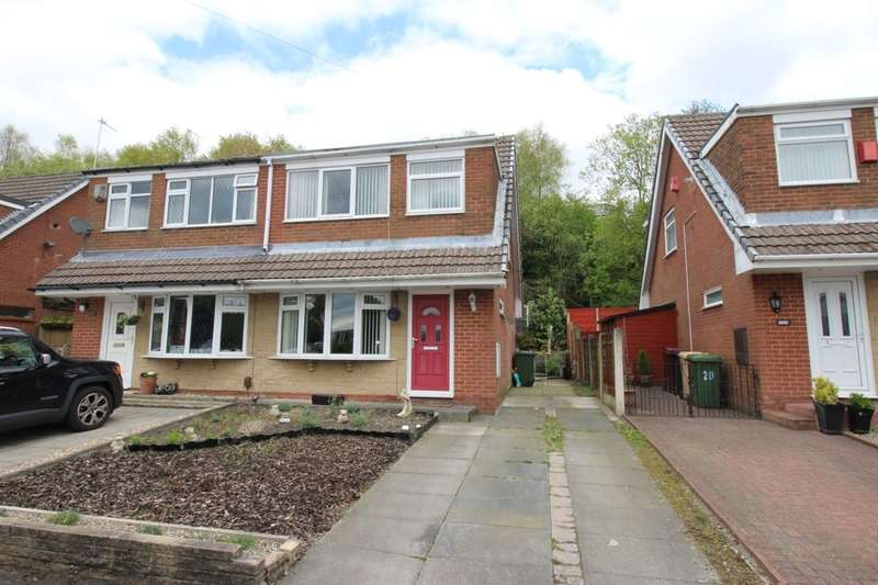 3 Bedrooms Semi Detached House for sale in Mendip Close, Horwich, Bolton, BL6
