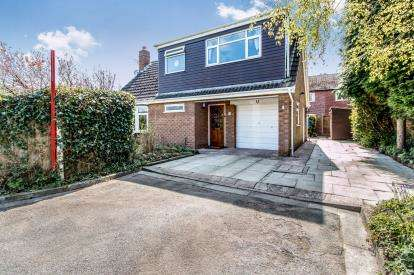 3 Bedrooms Detached House for sale in St. Helens Close, Rixton, Warrington, Cheshire