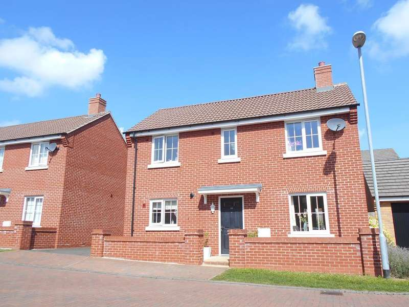 3 Bedrooms Detached House for sale in Saltcote Way, Bedford, Bedfordshire, MK41 7FT