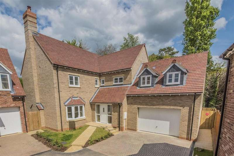 4 Bedrooms Detached House for sale in Mill Lane, Westbury, Brackley