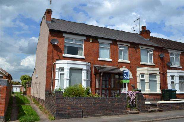 3 Bedrooms End Of Terrace House for sale in Maudslay Road, Chapelfields, Coventry, West Midlands