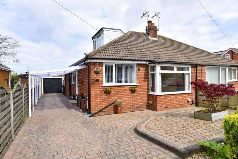 3 Bedrooms Semi Detached Bungalow for sale in Sandhill Drive, Harrogate