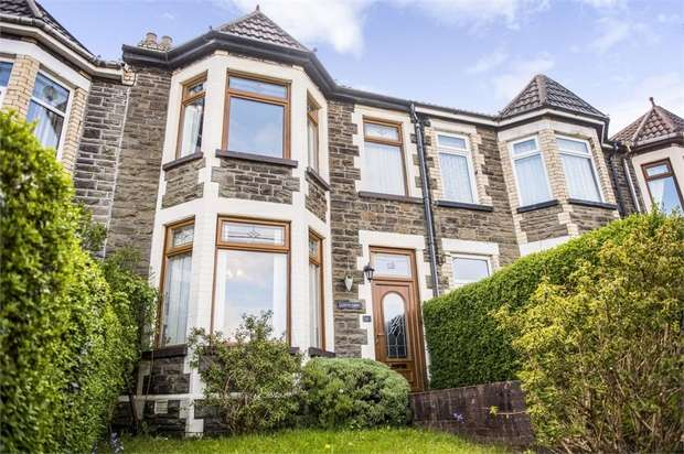 4 Bedrooms Terraced House for sale in Park Crescent, Bargoed, Caerphilly