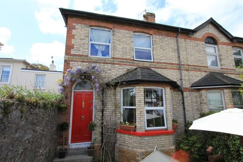 4 Bedrooms End Of Terrace House for sale in Torquay Road, Newton Abbot