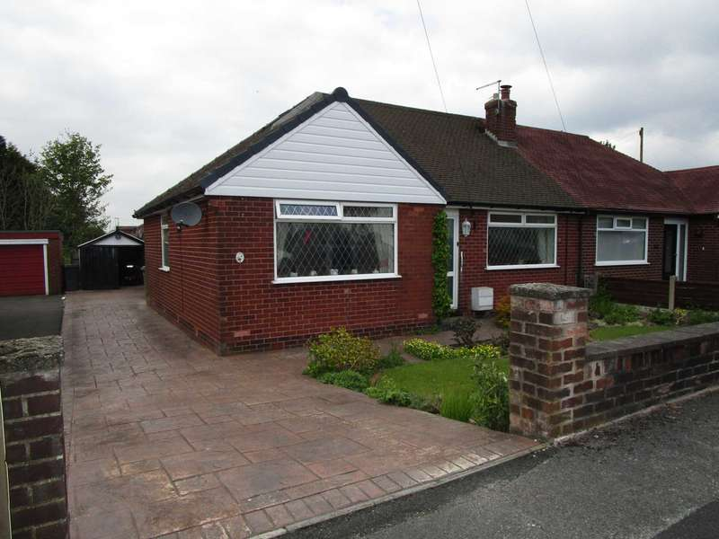 3 Bedrooms Semi Detached Bungalow for sale in Sunfield Drive, Royton