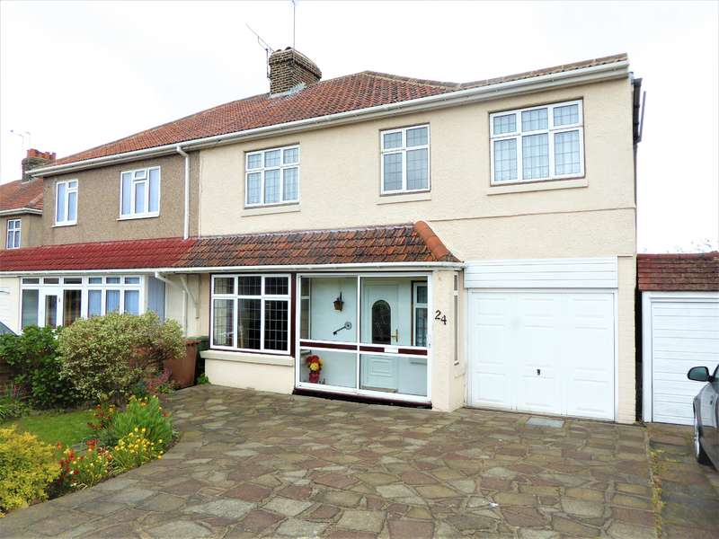 5 Bedrooms Semi Detached House for sale in Barnehurst Road, Bexleyheath, Kent, DA7 6EZ