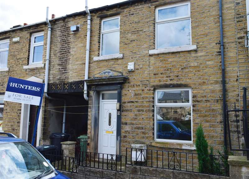 2 Bedrooms Terraced House for sale in Hawthorne Terrace, Crosland Moor, Huddersfield, HD4 5RP