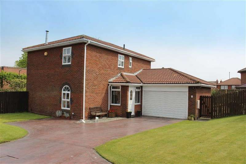 4 Bedrooms Detached House for sale in Preston Wood, North Shields, Tyne And Wear, NE30