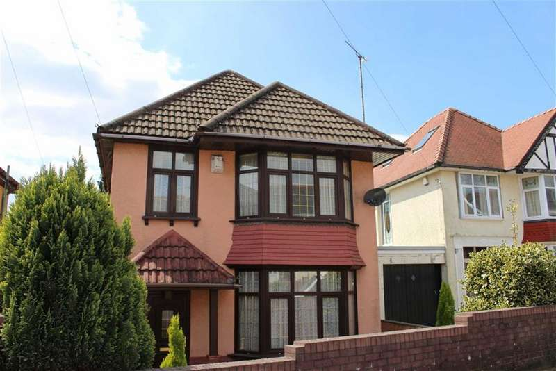 3 Bedrooms Detached House for sale in Carnglas Road, Sketty