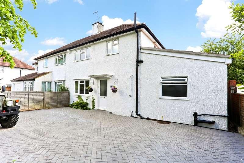 4 Bedrooms Semi Detached House for sale in Hillside Road, Waddon