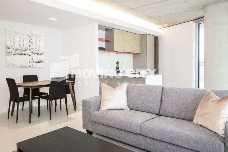 2 Bedrooms Flat for sale in Hoola, West Tower, Royal Victoria Docks, Docklands, E16