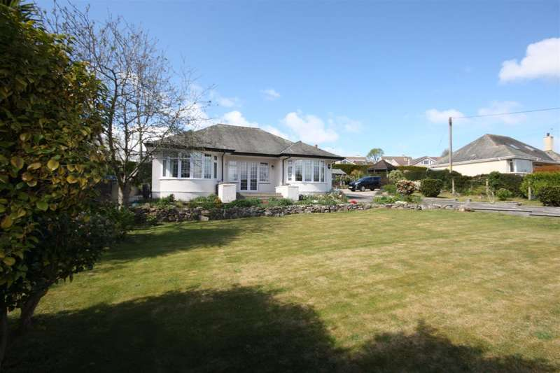 3 Bedrooms Detached Bungalow for sale in Bryn Glas, Lon Ganol, Llandegfan