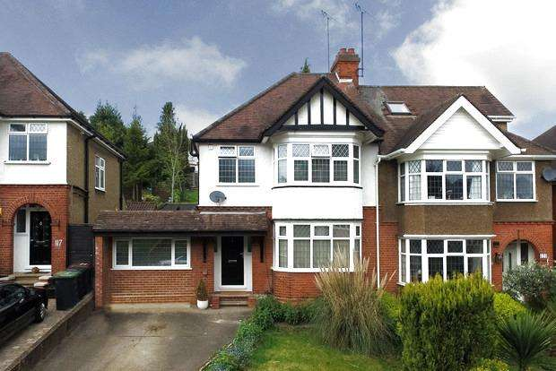 3 Bedrooms Semi Detached House for sale in Cutenhoe Road, Luton, LU1
