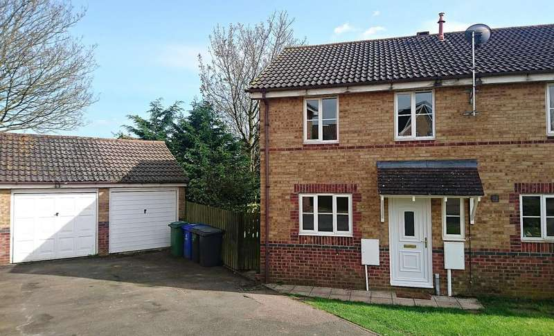 3 Bedrooms End Of Terrace House for sale in Nuffield Close, Brackley