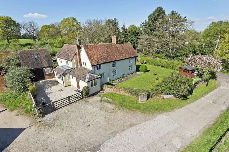 4 Bedrooms Detached House for sale in Rushbrook Lane, Tanworth In Arden