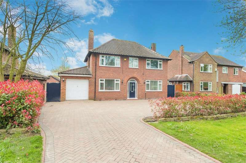 4 Bedrooms Detached House for sale in Culcheth Hall Drive, Culcheth, Warrington, Cheshire